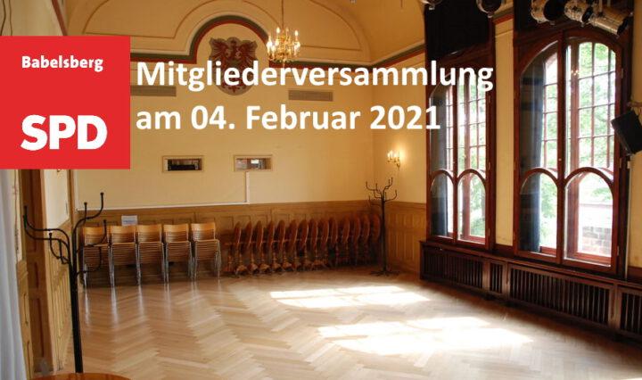 Saal im Kulturhaus Babelsberg